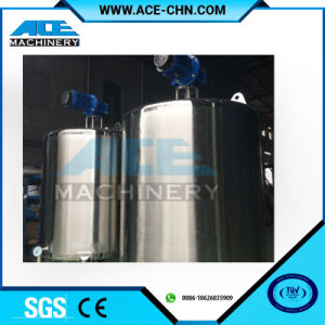 Sugar and Water High Speed Mixing Unit Tank pictures & photos