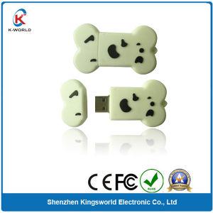 Cute PVC Bone 1GB USB Flash Disk pictures & photos