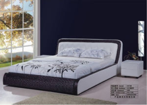 Bed, Leather Bed (3670#)