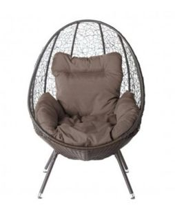 Outdoor Rattan Furniture, Wicker Sitting Egg - Wpe01