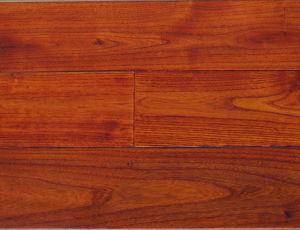 Anti- Scraped Hand Scraped Asian Teak Wooden Flooring (SW-8721)