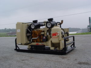 Xhp1070 Ingersoll Rand, Portable Screw Compressor, 1070cfm 350psig Ingersoll Rand