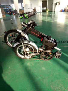 "High Quality Quick Folding 14"" 36V Electric Bike pictures & photos"