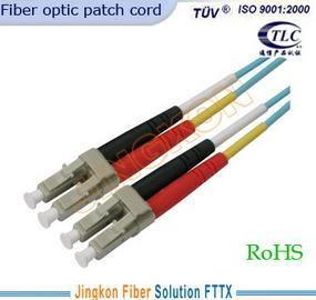 LC Om3 Optical Fiber Patch Cord