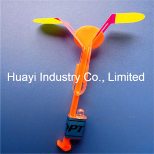 LED Flying Flash Sling Copter Rocket Arrow Flyer Toy pictures & photos
