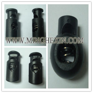 Black Plastic Rope Buckle with ISO SGS