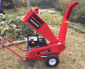 Hot Sale 4 Inch Wet and Dry Wood Branches Chipper Shredder pictures & photos