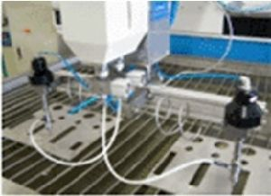 Water Jet Cutting Machines---Double Head pictures & photos