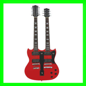 Double Neck Electric Guitar (SNDE001)