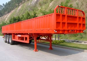 40 Feet 3 Axles Wall Side Semi Trailer pictures & photos