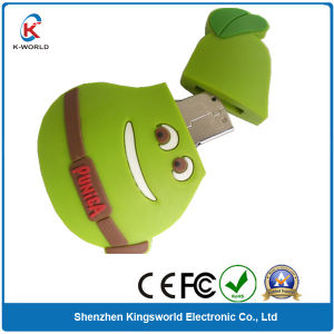 New Design Pear PVC USB Flash Drive pictures & photos