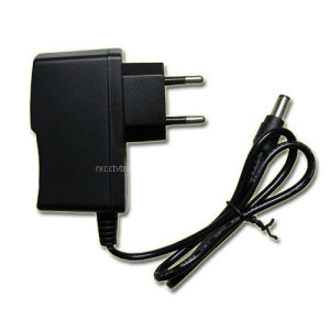 Power Adapter with Euro Plug DC 12V Adaptor 1.0A 12W (PS12-12)