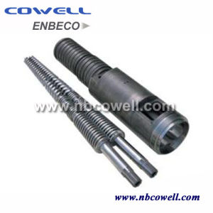ABS. PP. PVC. PE Raw Material Conical Twin Screw Barrel pictures & photos