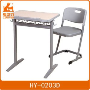 Wood Metal School Desk Chair Furniture Sets pictures & photos