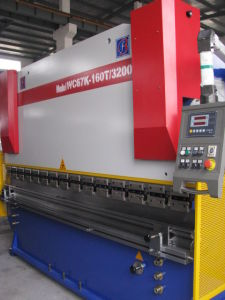 Nc Hydraulic Press Brake (WC67K 160T3200) with E10 pictures & photos