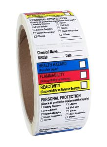 MSDS, Ghs, Hmis, Nfpa Drum Stickers for Chemical pictures & photos