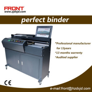 Automatic Perfect Book Binding Machine Fj-J60A4 Perfect Binder pictures & photos