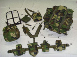 U. S. Style Complete Set (Army Product) / Medium Size Backpack Set pictures & photos