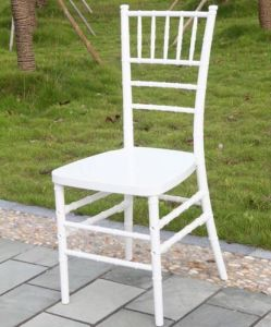 White Resin Tiffany Chair for Wedding pictures & photos