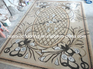 Stone Carpet Marble Mosaic Pattern Tile (STP85) pictures & photos