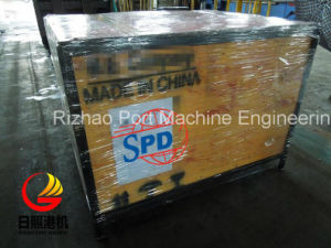 SPD Galvanized Mining Heavy Conveyor Roller Frame pictures & photos