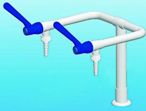 Dual-Port Laboratory Faucet (XSD-2203)