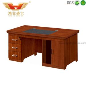 Modern Wood Office Computer Desk for Staff pictures & photos