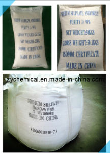 Sodium Sulphate Anhydrous (Global Salt/ SSA) , Used in Dyeing, Glass, Leather and Rubber pictures & photos