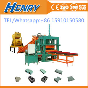 Qt5-20 Automatic Concrete Cement Paver Brick \Block Making Machine in Kenya pictures & photos
