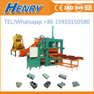 Qt5-20 Automatic Concrete Cement Paver Brick \Block Making Machine in Kenya pictures & photos