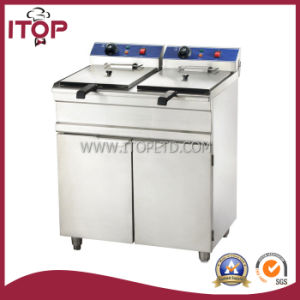Electric Chicken Deep Fryer with Cabinet (PEFU/PEF) pictures & photos