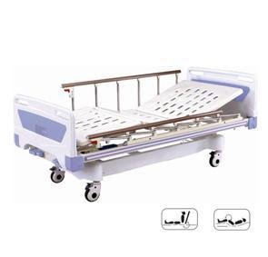 Movable Medical Full-Fowler Hospital Bed with ABS Board pictures & photos