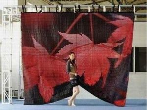 Flexible & Curved Display LED Curtain pictures & photos