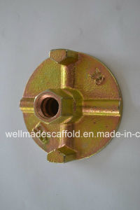Concrete Formwork Shuttering Form Tie Rod Anchor Nut pictures & photos