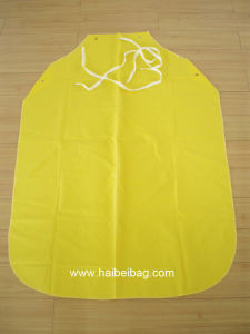 Yellow PU Apron pictures & photos