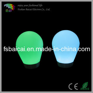 Rechageable Li-Battery Glowing LED Floor Lamp pictures & photos