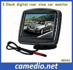 3.5inch Digital Car Rear View Reversing Monitor with 2 AV Inputs pictures & photos