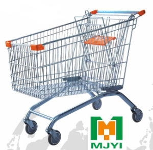 150 Liters Supermarket Retail Store Convenient Shopping Trolley pictures & photos
