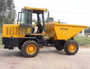5.0ton Front Loading Site Dumper pictures & photos