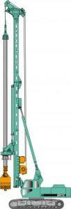 Jintai Sh Series Hydraulic Rotary Drilling Rig (SH10)