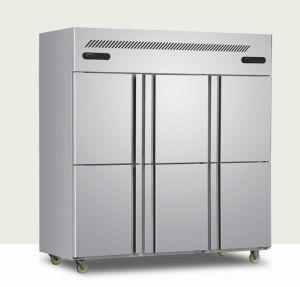 Stainless Steel Six Door Kitchen Refrigerator pictures & photos