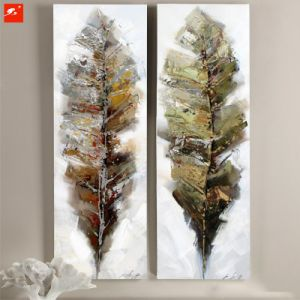 Acrylic Leaves Handmade Oil Painting Set pictures & photos