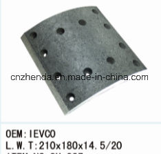 Iveco 7 Heavy Duty Truck Brake Lining pictures & photos