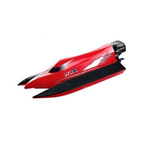 147963-2.4G 4CH 50km-H Brushless Motor RC Boat - Red pictures & photos