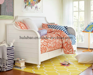 Children Furnitre Baby Furniture Wooden Daybed with Trundle pictures & photos