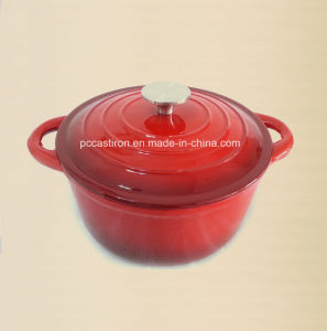 8PCS Enamel Cast Iron Cookware Set LFGB, Ce, FDA, SGS Approved pictures & photos