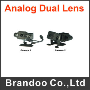 China Factory Price Sony CCD 700tvl Night Vision Dual Lens Vehicle Car Camera pictures & photos