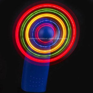 Promotion Gifts LED Flashing Light Mini Fans (3509) pictures & photos