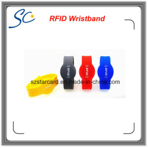 Contactless RFID Smart Silicon Wristband pictures & photos