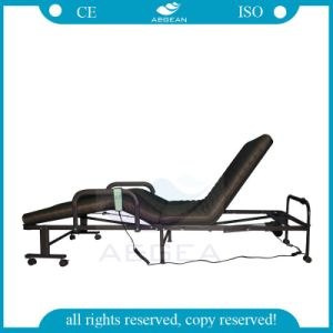 AG-Fb003b latest Adjustable Manual Hospital Folding Bed pictures & photos